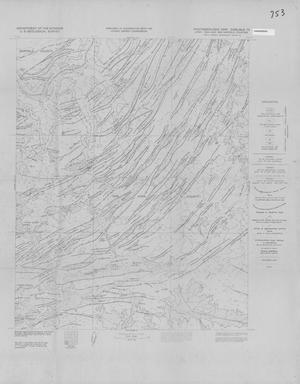 Primary view of object titled 'Photogeologic Map, Carlisle-13 Quadrangle, San Juan and Garfield Counties, Utah'.