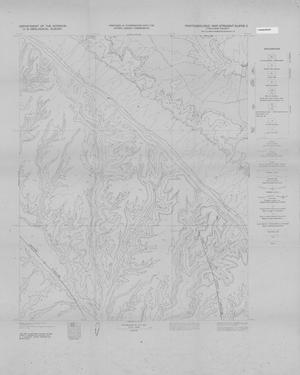 Primary view of object titled 'Photogeologic Map, Straight Cliffs-3 Quadrangle, Kane County, Utah'.