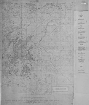 Primary view of object titled 'Geologic Map of the Nash Draw Quadrangle, Eddy County, New Mexico'.