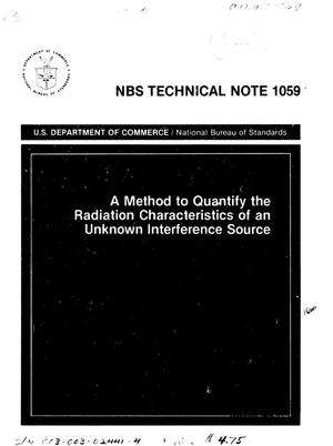 Primary view of object titled 'A Method to Quantify the Radiation Characteristics of an Unknown Interference Source'.