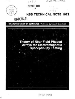 Primary view of object titled 'Theory of Near-Field Phased Arrays for Electromagnetic Susceptibility Testing'.