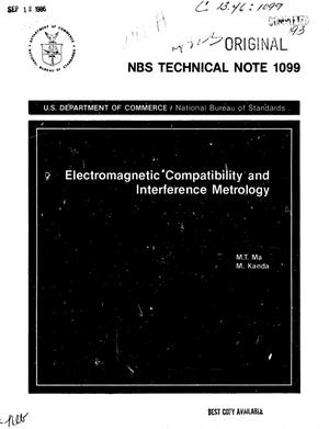 Primary view of object titled 'Electromagnetic Compatibility and Interference Metrology'.