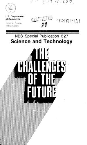 Primary view of object titled 'Science and Technology: the Challenges of the Future'.