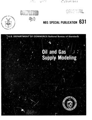 Oil and Gas Supply Modeling