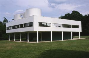 Primary view of object titled 'Villa Savoye at Poissy'.