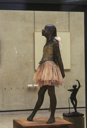 Primary view of object titled 'Young (Little) Dancer,  Fourteen Years Old (dressed). After wax orig. exhibited in 1881'.