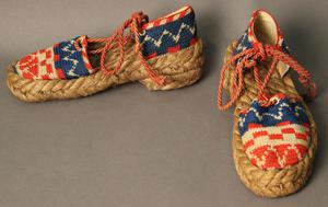 Primary view of object titled 'Beach Shoes'.