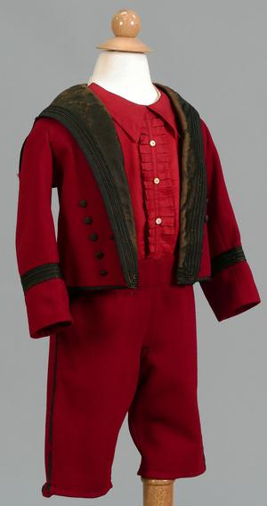 Primary view of object titled 'Boy's Suit (Jacket, Pants, and Shirt)'.