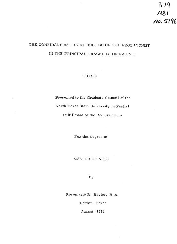 dissertation racine britannicus