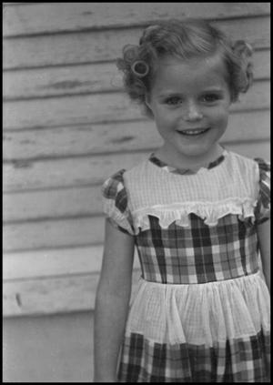 Primary view of [Carol Williams as a child, 2]