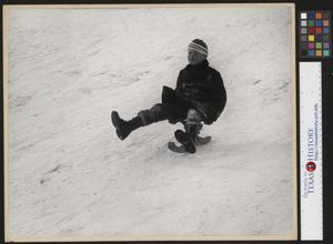 Primary view of object titled '[Bump Jumper - Winter Sledding]'.