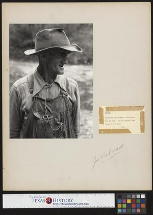 Primary view of object titled '[A Tennessee Farmer]'.