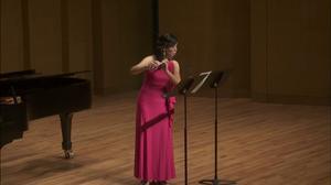 Primary view of Graduate Artist Certificate Recital: 2015-02-11 – Yili Hsu, flute