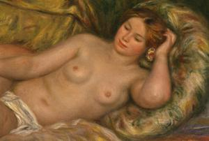 Primary view of The Large Nude