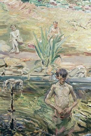 Primary view of object titled 'Boys Bathing'.