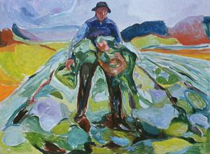 Primary view of object titled 'Man in Cabbage-Field'.