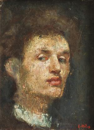 Primary view of Self Portrait (Head)