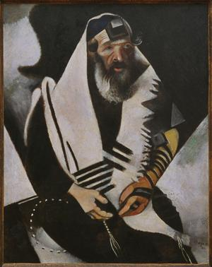 Primary view of object titled 'Jew in Black and White'.