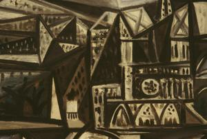 Primary view of object titled 'Ile de la Cite: View of Notre Dame'.