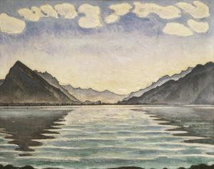 Primary view of object titled 'The Lake at Thoune'.