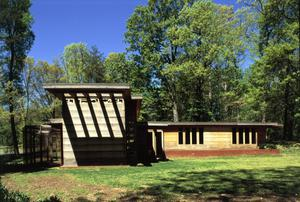Primary view of object titled 'Usonian Style Pope-Leighey House'.