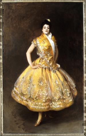 Primary view of object titled 'The Spanish Dancer 'La Carmencita''.