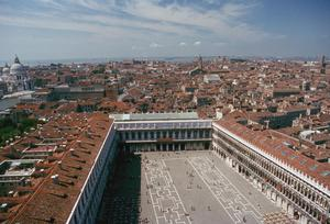 Primary view of object titled 'Panorama of Venice from the Campanile'.