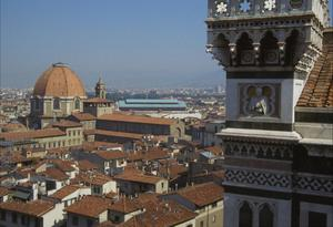 Primary view of object titled 'Panorama of Florence from Campanile'.