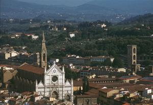 Primary view of object titled 'Panorama of Florence from Giotto's Tower'.