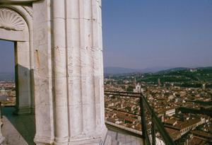 Primary view of object titled 'Panorama of Florence from the Duomo'.