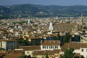 Primary view of object titled 'Panorama of Florence from Forte di Belvedere'.