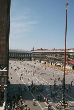 Primary view of object titled 'Piazza San Marco'.