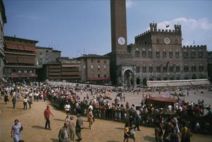 Primary view of object titled 'The Campo and Palazzo Pubblico'.
