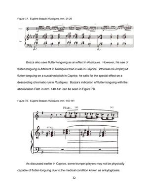 The Influence of Jazz on the Solo Trumpet Compositions of