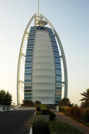 Primary view of object titled 'Burj al Arab Hotel'.