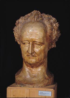 Primary view of Bust of Johann Wolfgang von Goethe