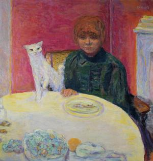 Primary view of object titled 'Woman with a Cat'.