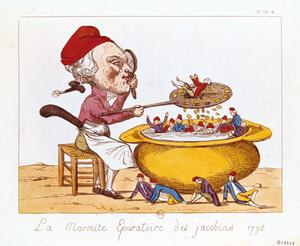 Primary view of object titled 'Purifying Pot of Jacobins'.