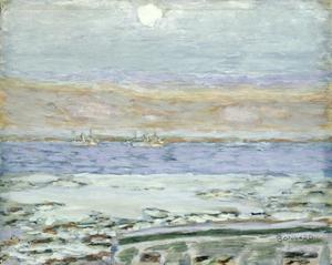 Primary view of object titled 'Bay of Cannes'.