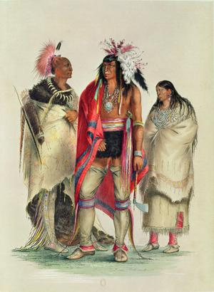 Primary view of North American Indians