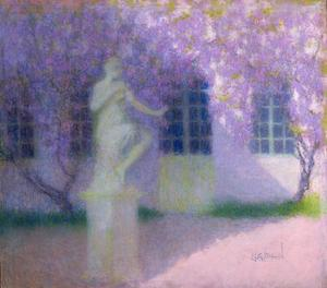 Primary view of object titled 'Wisteria'.