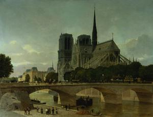 Primary view of Notre Dame, Paris