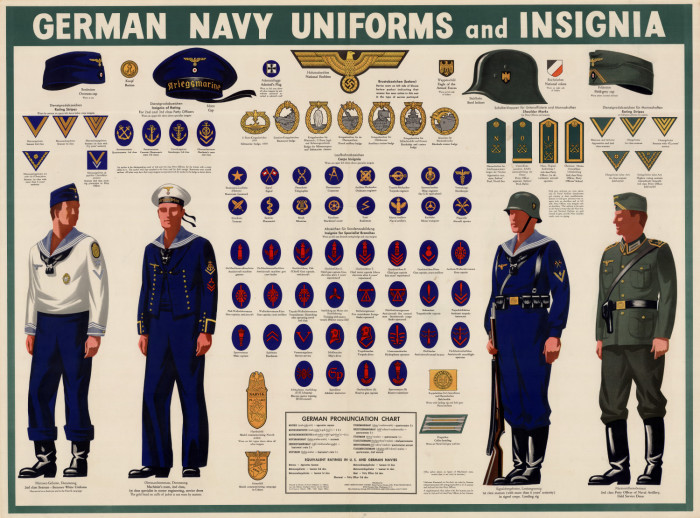 German navy uniforms and insignia  - Digital Library