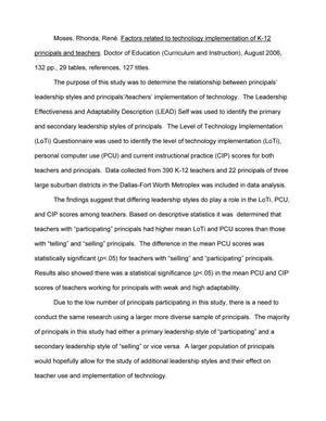 dissertation paper k 12