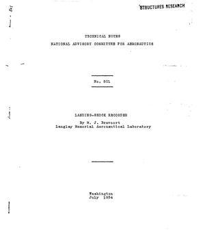 Primary view of Landing-shock recorder