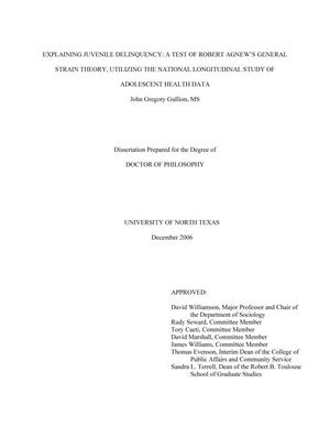 Secondary research dissertation