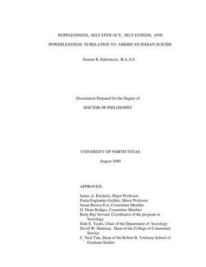self esteem and self efficacy pdf