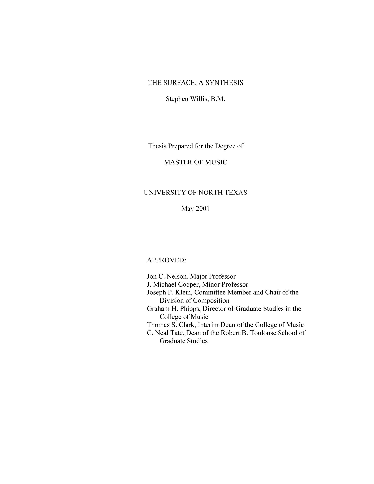 Dissertations & theses full text