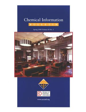 Primary view of object titled 'Chemical Information Bulletin, Volume 60, Number 1, Spring 2008'.