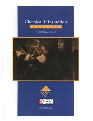 Chemical Information Bulletin, Volume 59, Number 02, Fall 2007